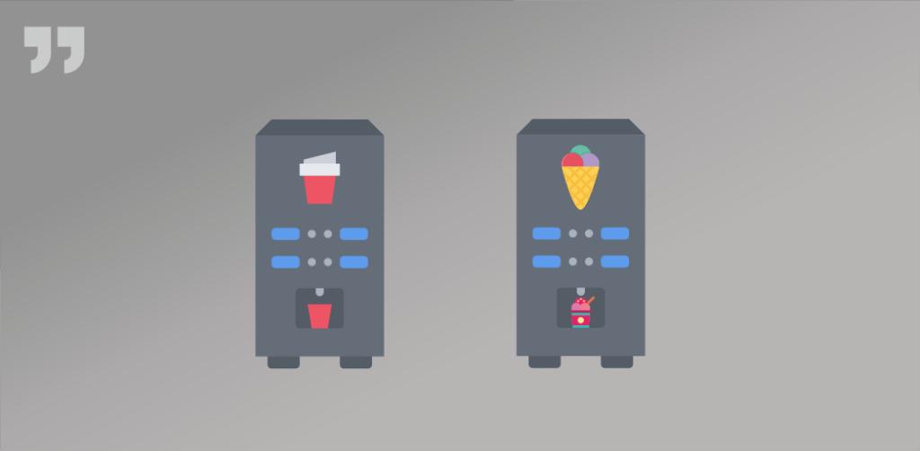 вендинговые аппараты, кофе, мороженое