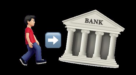 банк, человек