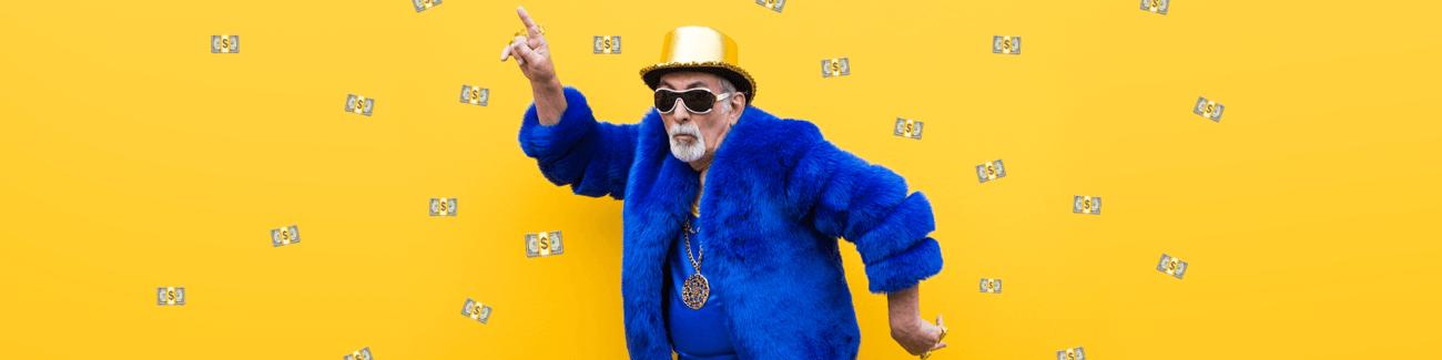 пенсионер, налоговый вычет, деньги, богатый дедушка