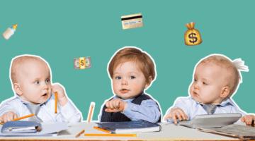 дети, финансы, деньги