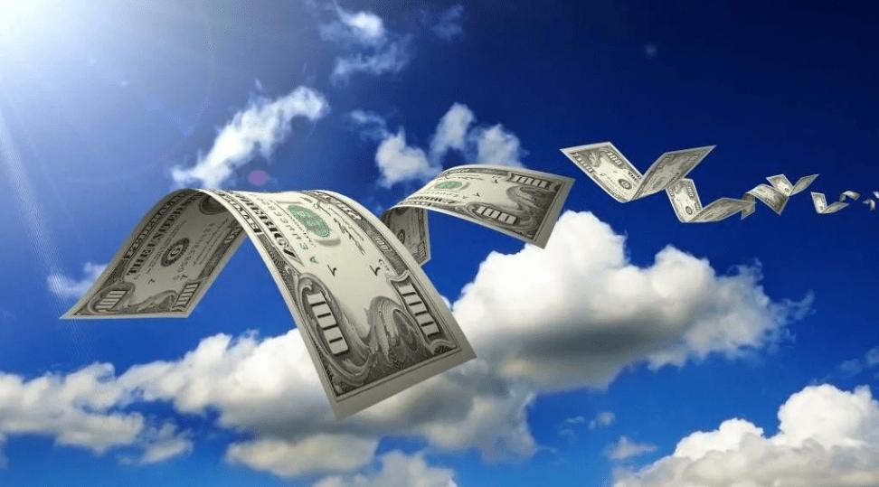 dollars, USD, dollar fly