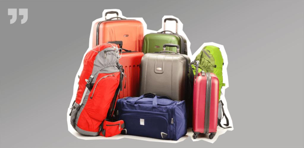 куча чемоданов