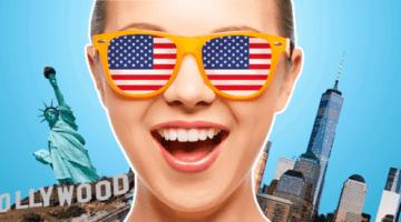 США, виза в Америку, Нью-Йорк, статуя свободы, Голливуд