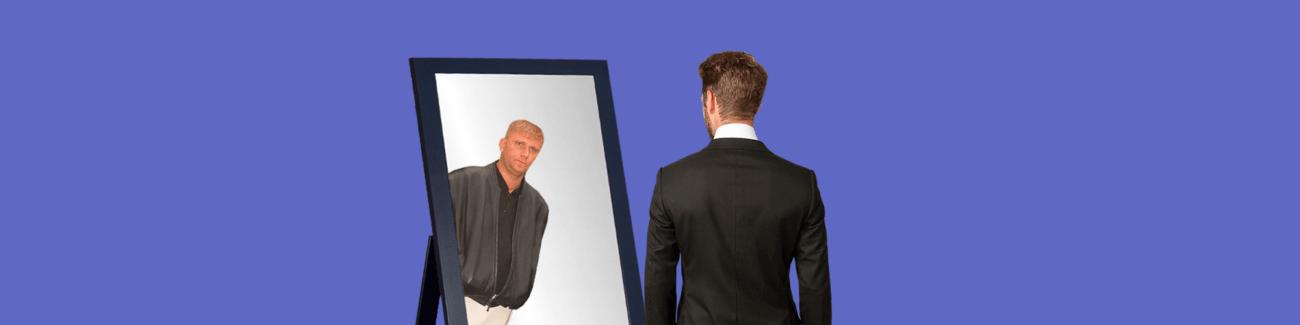 зеркало, миллионер, свидетель