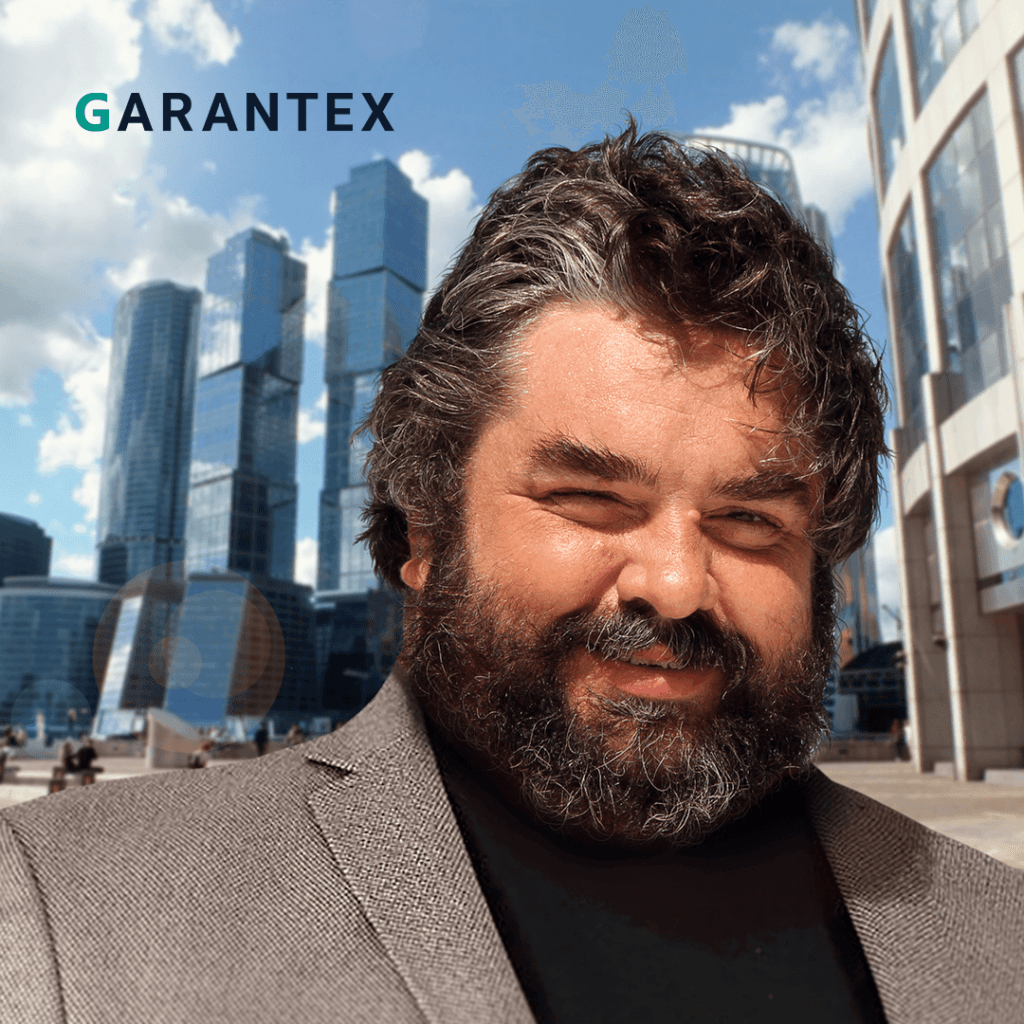 Сегрей Менделеев, основатель биржи Garantex