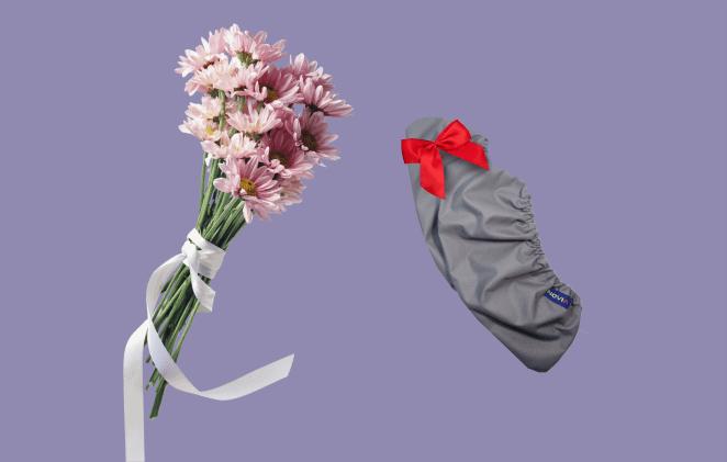 цветы, многоразовые бахилы