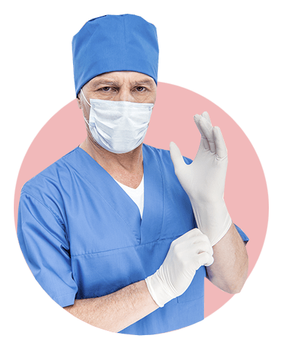 доктор, перчатка