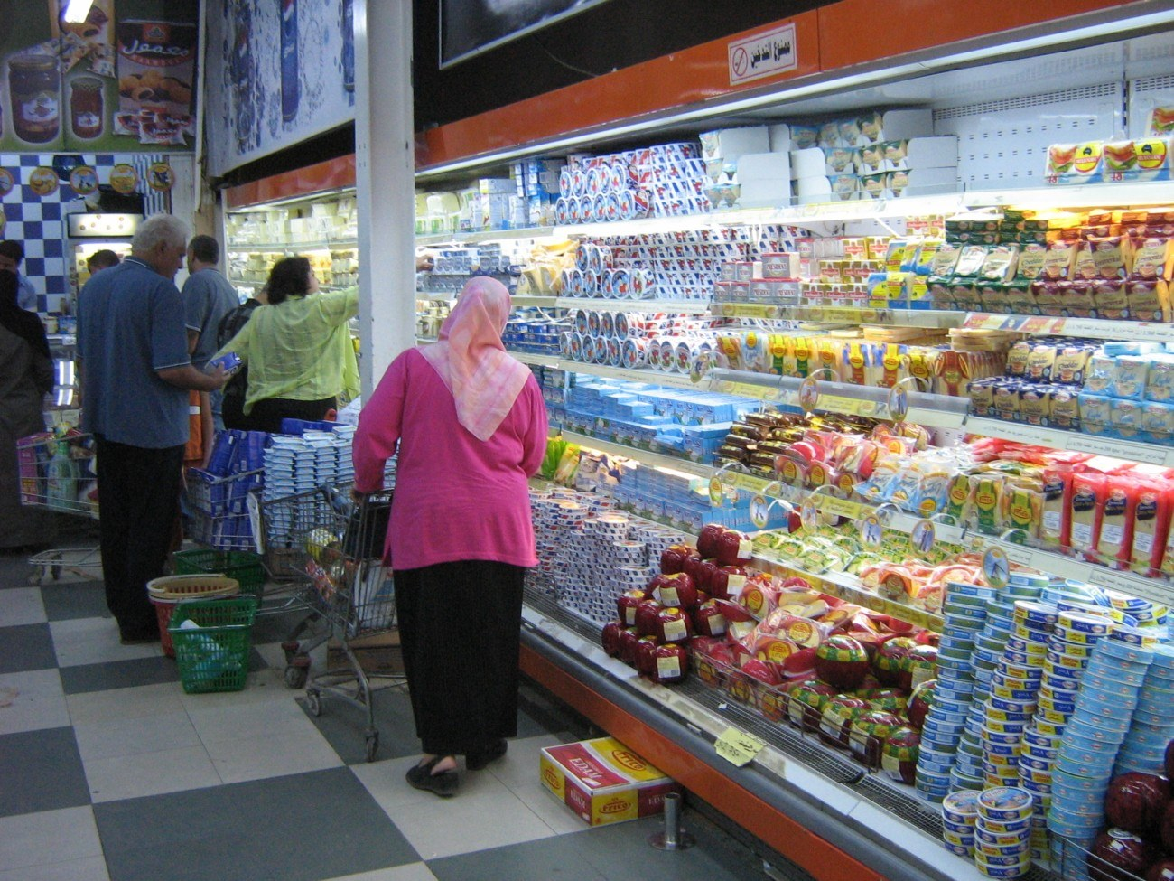 Image for Опишите ваш типичный поход в магазин.