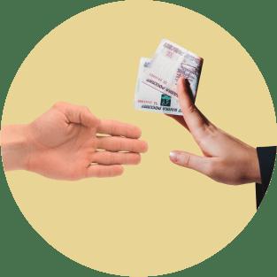 руки, деньги
