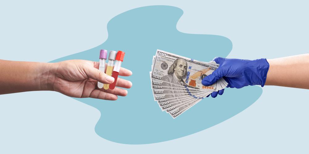 анализы, донор, деньги