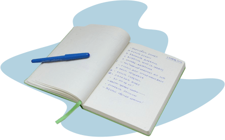Блокнот со списком задач