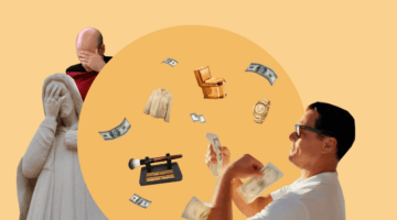 богатый, деньги, facepalm