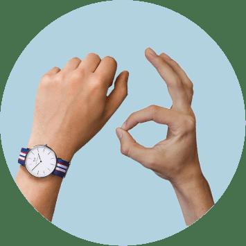 Руки, часы