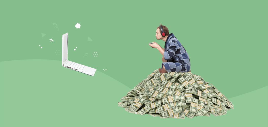 компьютерные игры, деньги, работа