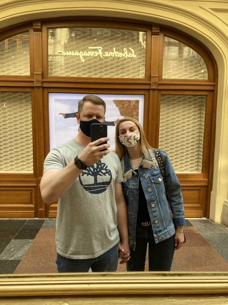 Юрий и Виктория Буровы