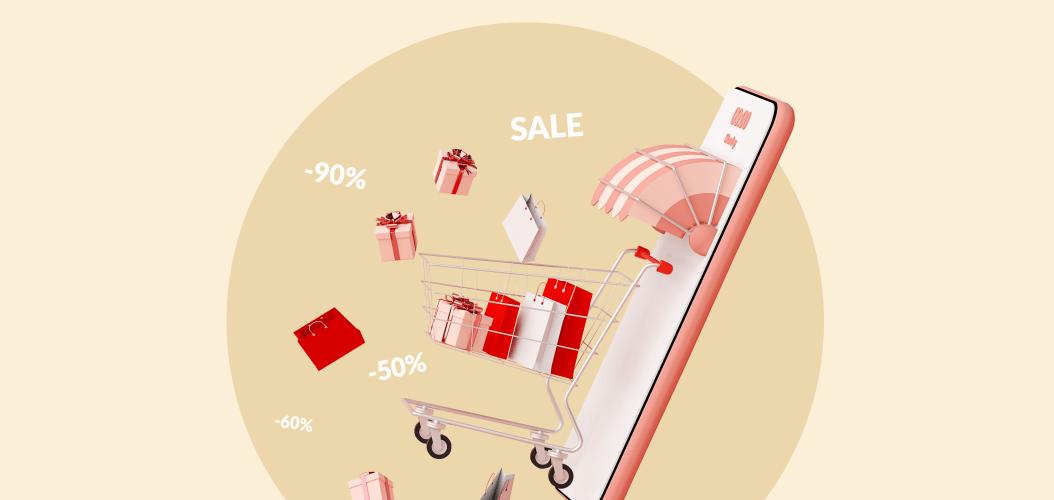 промокод, скидка, телефон, покупки