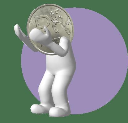 рубль хватается за голову