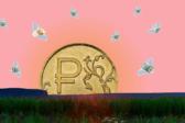рубль, закат, деньги, дефолт