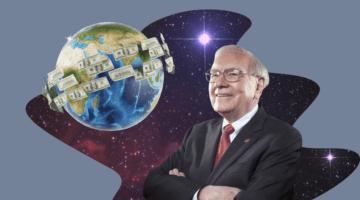 Земля, планета, деньги, Уоррен Баффет, космос