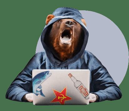 злой русский хакер