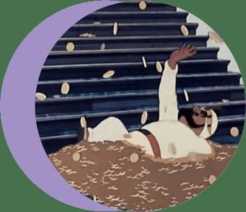 золотая антилопа, раджа, деньги