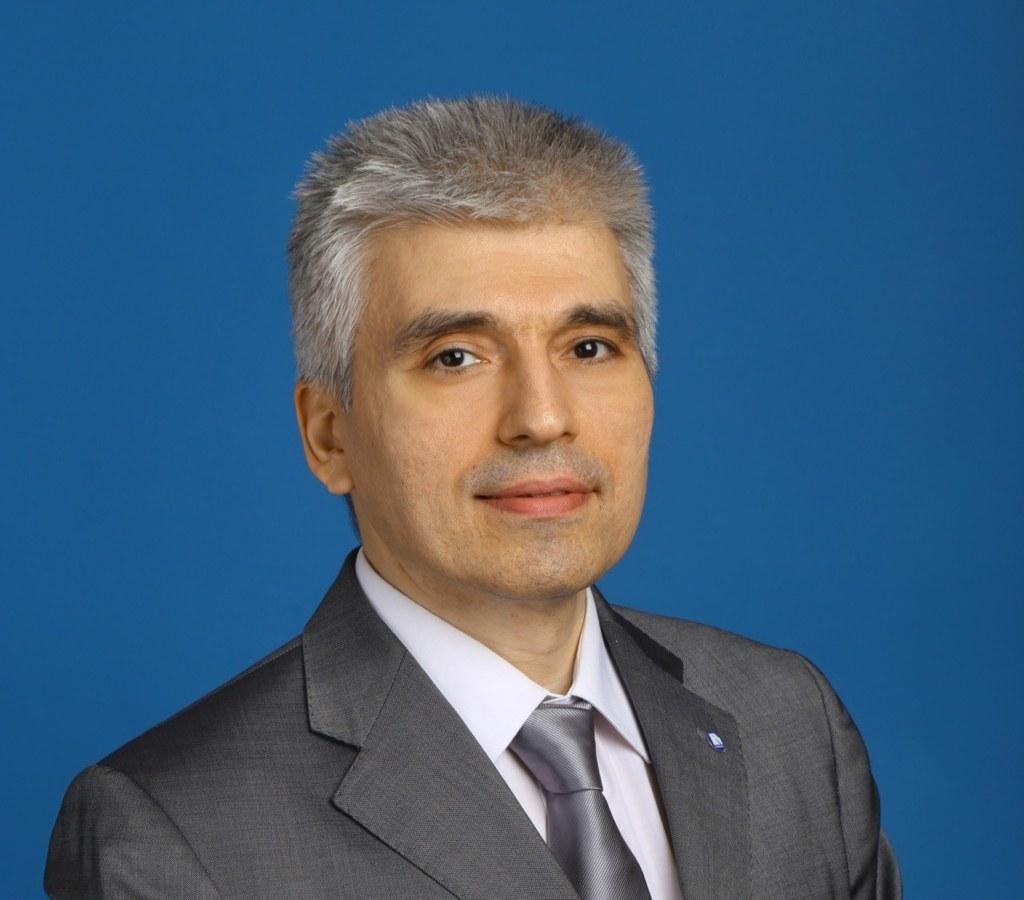 Эдуард Христианов, первый заместитель председателя правления РосДорБанка
