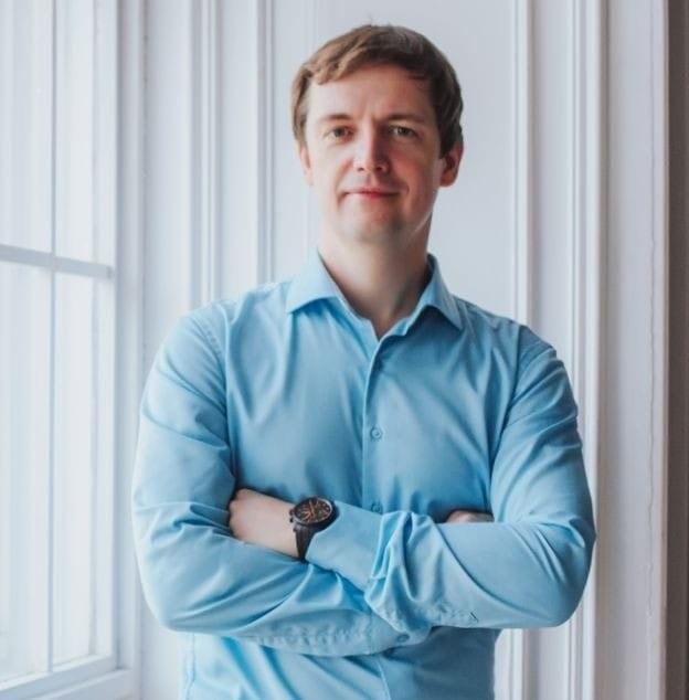 Михаил Попов, основатель финтех-платформы TalkBank