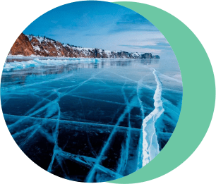 Байкал, лёд