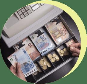 деньги, касса