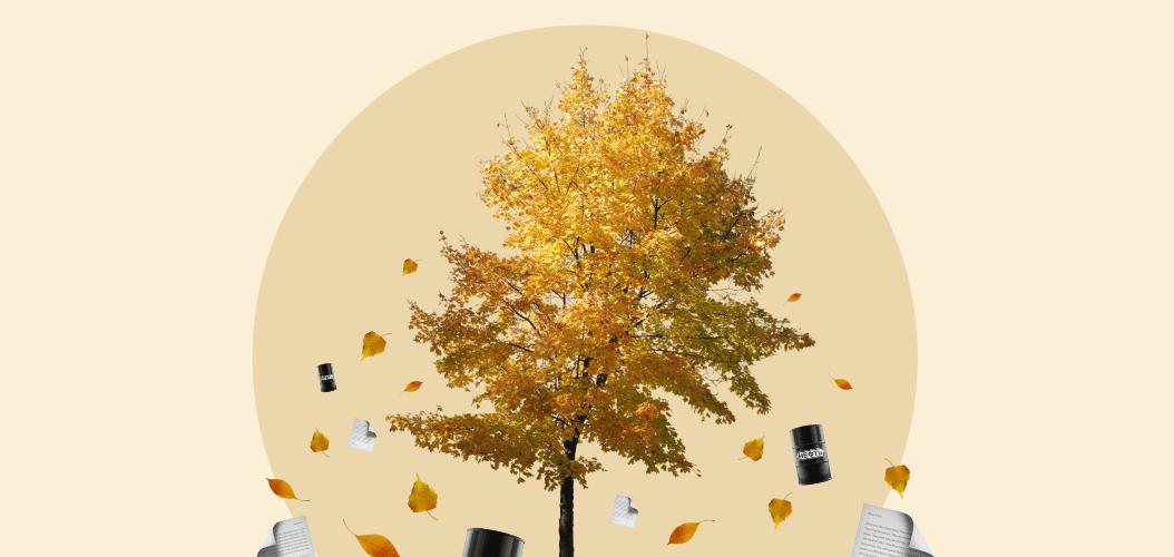 дерево осень акции нефть падает