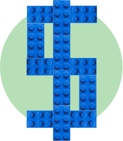 лего доллар