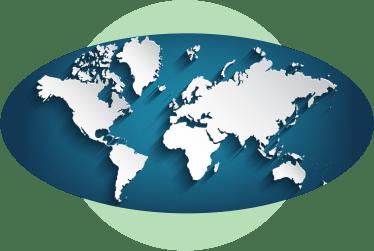 карта мира без границ