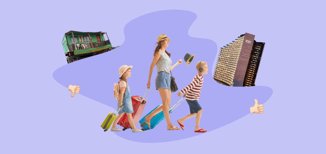 отели семья путешествия экономия