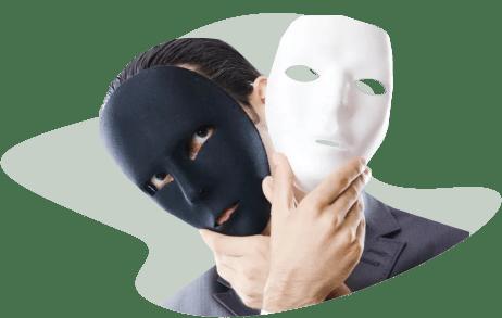 меняет маски