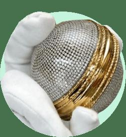 Бриллиантовый мяч для крикета