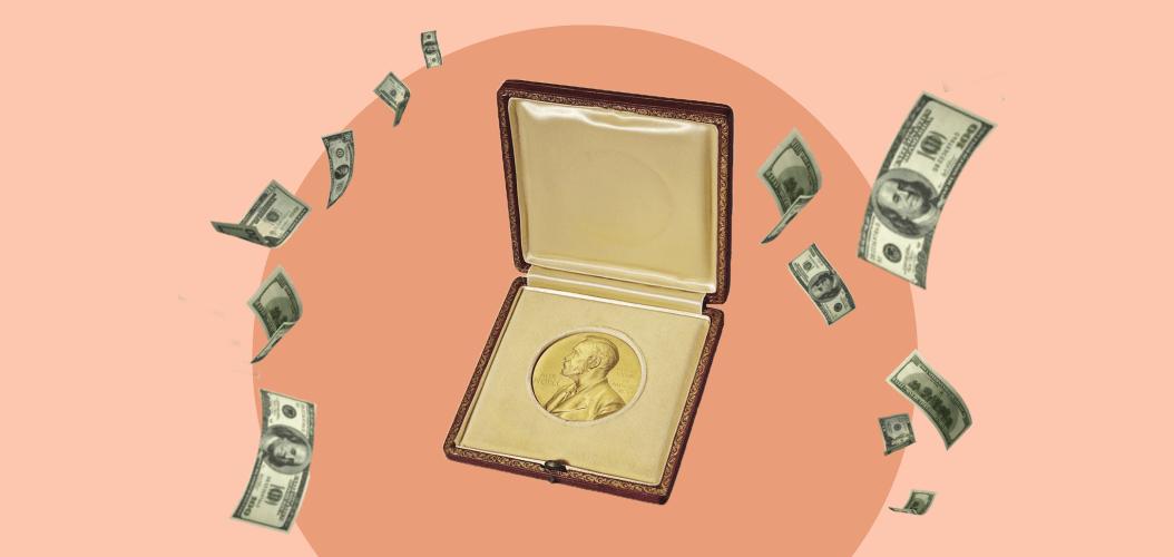 нобелевская премия медаль деньги