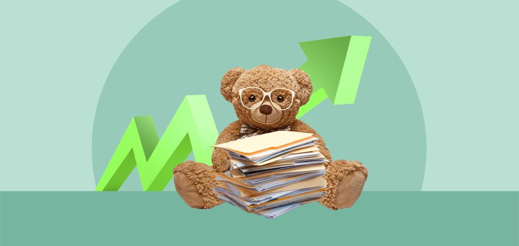 плюшевый мишка ценные бумаги акции детский мир