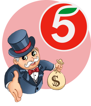 пятерочка миллионер