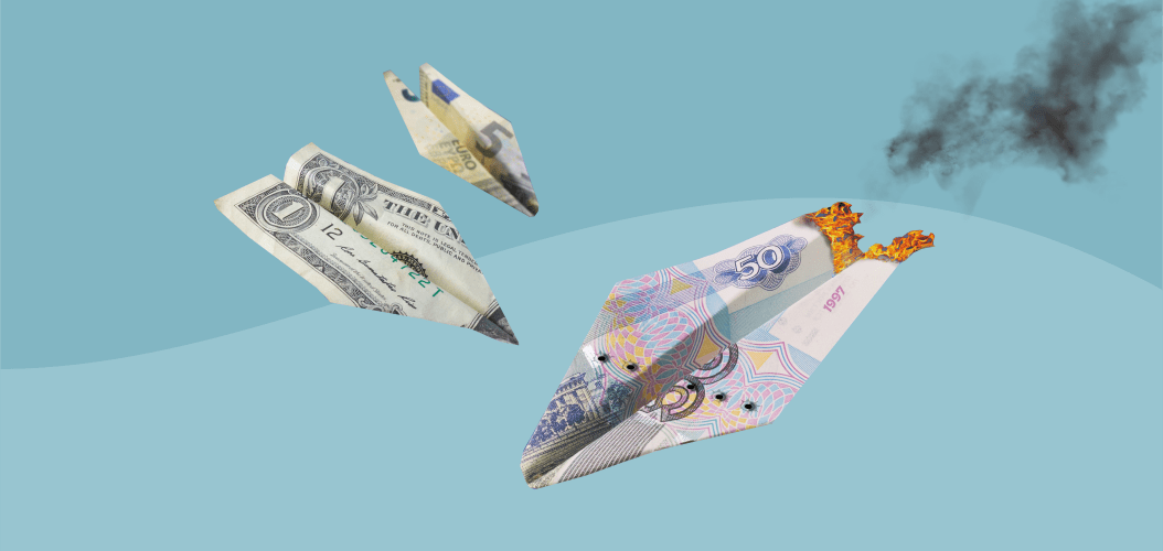 рубль евро, доллар