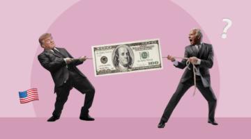 Трамп Байден выборы США доллар