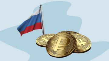 криптотрубль флаг России