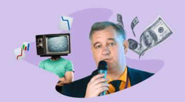 Sergey Spirin TV s golovoy grafika den'gi