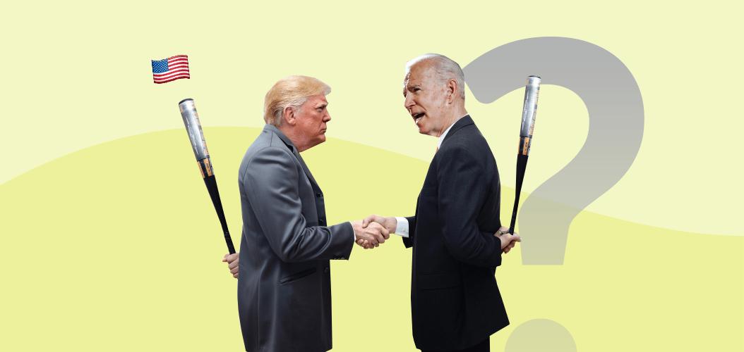Трамп Байден вопрос США выборы