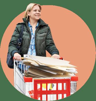 женщина ценные бумаги