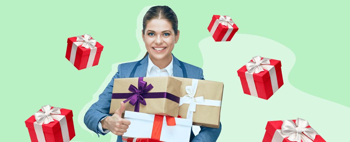 Что подарить сотрудникам на Новый год: 10 корпоративных подарков дешевле 300 рублей