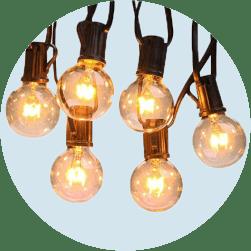 Гирлянды и праздничное освещение
