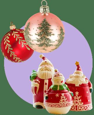 Продажа новогодних сувениров