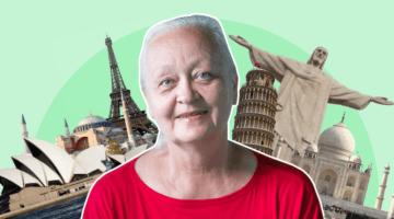 «Объехала уже 67 стран». Пенсионерка-инвестор Лариса Морозова путешествует на дивиденды
