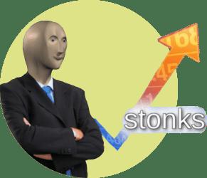 """мем """"stonks"""""""