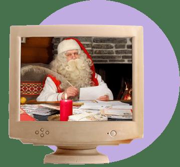 Дед Мороз по скайпу